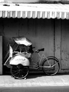 Becak, Indonesia