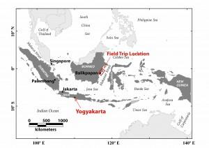Field trip Index Map