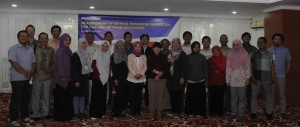 Workshop participants, Bandung, Indonesia, February 2017.