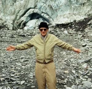 John Ferm, Franz Josef Glacier, New Zealand 1995 (photo © Tim A Moore)