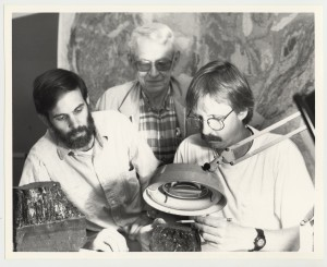 Left to Right: Jerry Weisenfluh, John Ferm, Tim Moore at University of Kentucky circa 1990