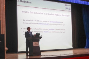 Tim Moore delivering a keynote address at the 35th TSOP Conference in Beijing, China in August 2018.