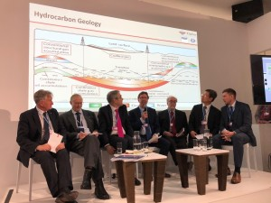 Tim Moore (fourth from left) on Methane for a Green Economy panel at COP24, Poland, December 2018