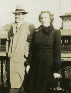 Donald Tavner Moore and Dorothy Allen Moore, 1948